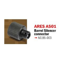 Action Army Silencer Adaptor for Ares Striker AS01